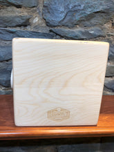 "10"" Pro Series CajonTab - Purple Heart, walnut, and aspen"