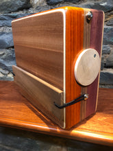 "10"" Pro Series CajonTab - padauk, walnut, and purple heart"