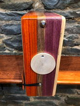 "12"" Pro Series CajonTab- Purple Heart, walnut, and padauk"