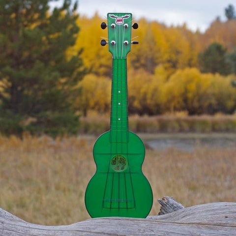 Image of OUTDOOR UKULELE™ TENOR GREEN NICKEL