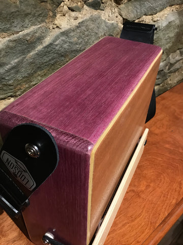"Image of 10"" Pro Series CajonTab- Purple Heart"