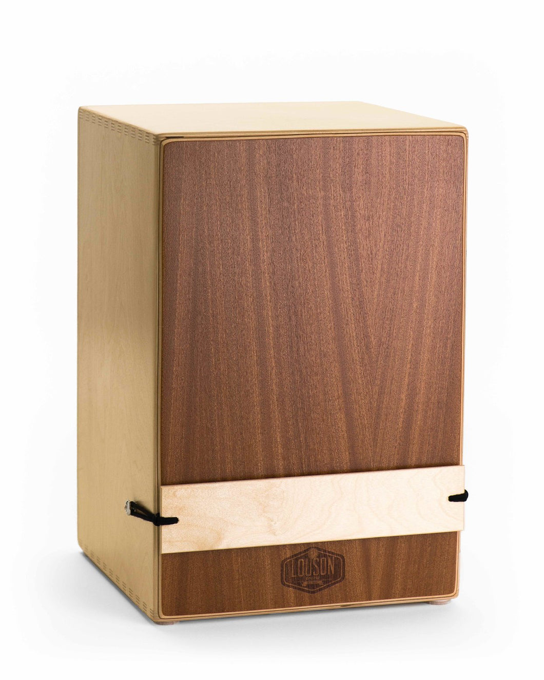 Cajon with external snare - Standard Birch and Mahogany