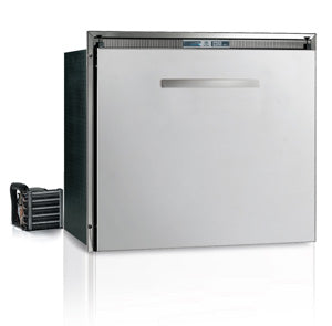 DW100RX - 3.3 cu. ft. Single Drawer, Stainless Steel Front, External Condensing Unit