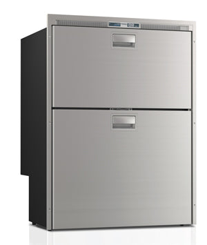 DW210IX - 6.3 cu.ft. Double Drawer, Stainless Steel Front, Internal Condensing Unit
