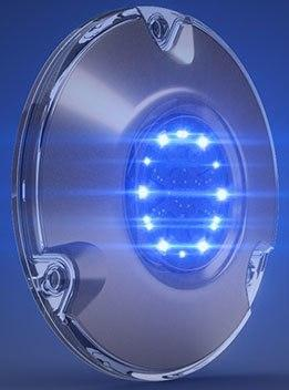 Lumishore LM600193 SUPRA SMX22 (Master) LED Underwater Boat Light Surface Mount - Blue/White - 90° 10.5-31VDC