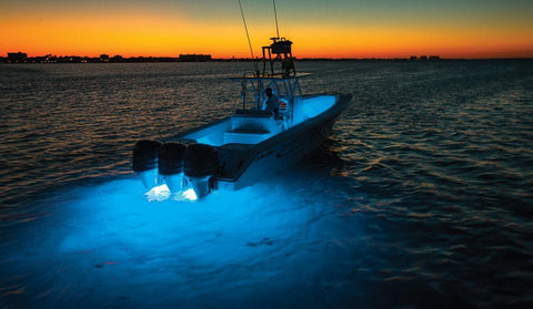 LumishoreORA TIX202 LED Marine Interchangeable Thru-Hull Mount Underwater Light - 60° 9-31VDC