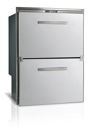 DW 180- 5.0 cu.ft. Double Drawer Refrigerator, Stainless Steel, Internal Condensing Unit