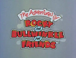Rocky and Bullwinkle intro card from the official DVDs