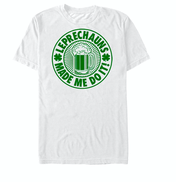 St Patricks Day Leprechauns Fault Mens Basic Tee