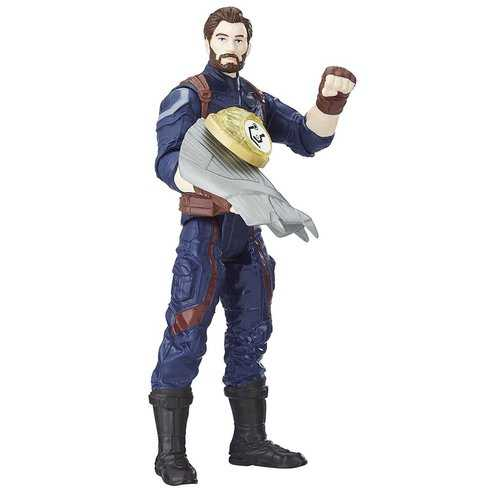 Marvel Avengers Infinity Wars - Captain America Figure - 6 Inches
