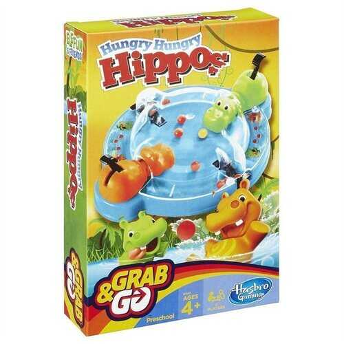 Hungry Hippos Grab and Go Game