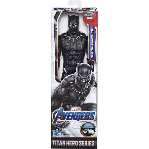 Marvel Avengers: Infinity War Titan Hero Series Black Panther 12-Inch-Scale Action Figure Toy with Titan Hero Power FX Port