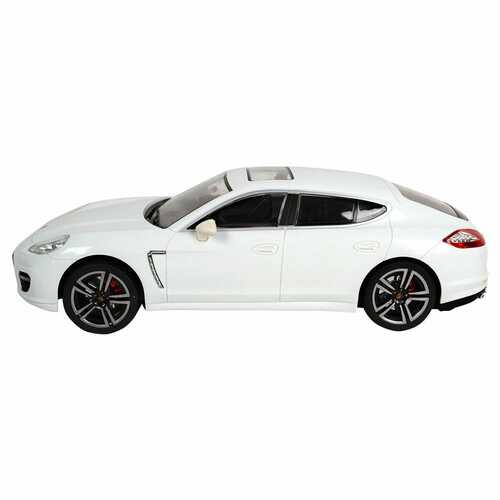 1:14 Porsche Electric Radio Remote Control Car with Lights-White