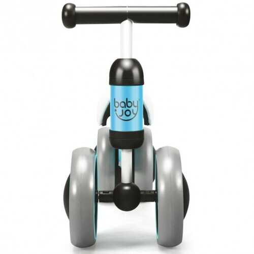 4 Wheels No-Pedal Baby Balance Bike-Blue