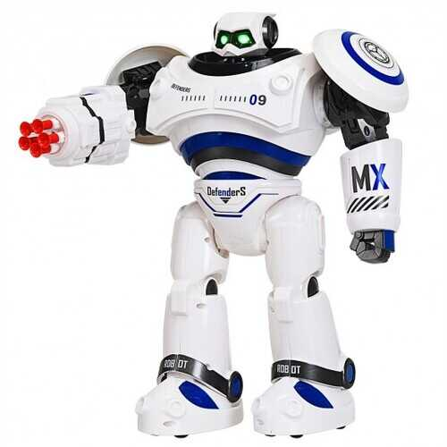 Remote Control Programmable Intelligent Combat Fighting Robot -Blue