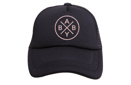 BABY X TRUCKER (ROSE GOLD GLITTER )