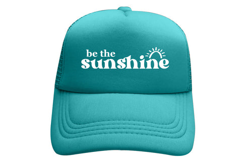 BE THE SUNSHINE TEAL TRUCKER - ON SALE