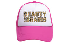 BEAUTY & BRAINS TRUCKER