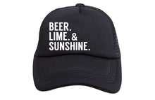 BEER LIME & SUNSHINE TRUCKER
