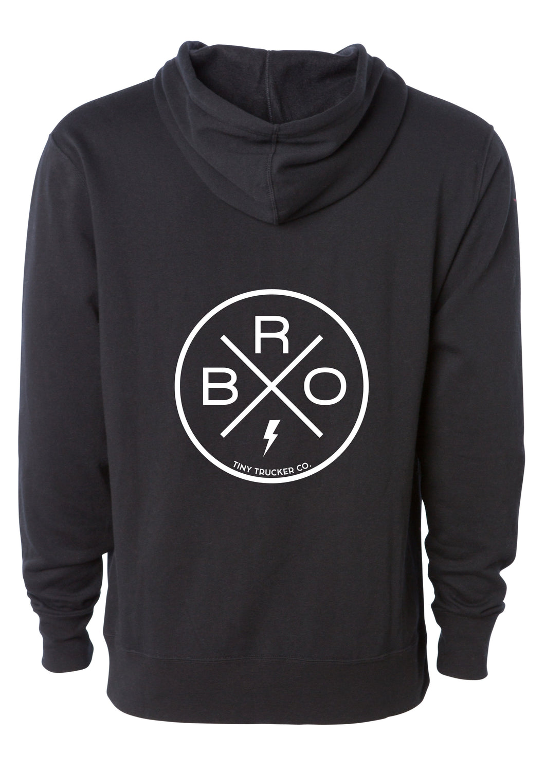 BRO ZIP UP SWEATSHIRT
