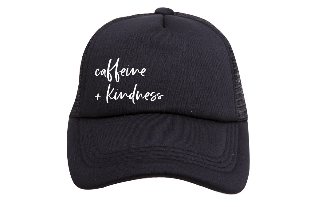 CAFFEINE & KINDNESS TRUCKER