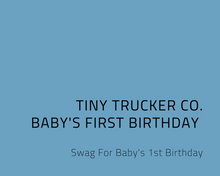 BABY'S FIRST BIRTHDAY BUNDLE