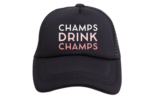 CHAMPS DRINK CHAMPS TRUCKER