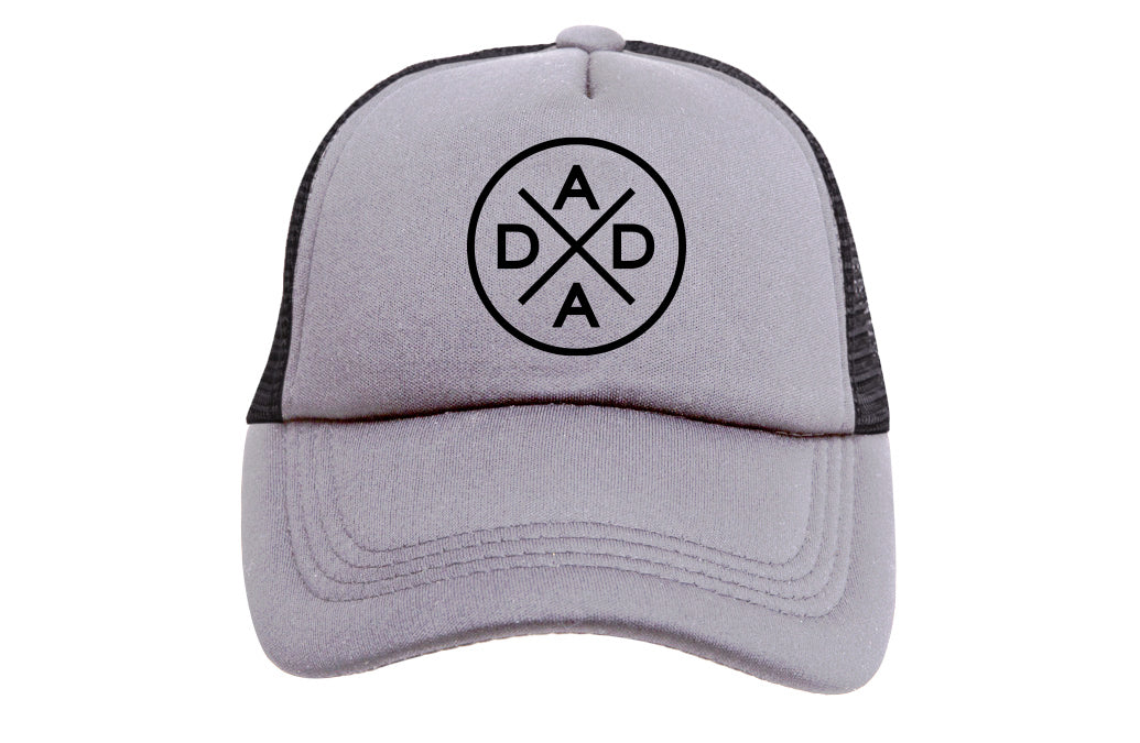 DADA X (GREY & BLACK) TRUCKER