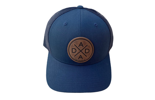 DADA X™ LEATHER PATCH - NAVY