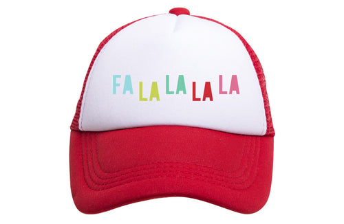 FALALALA TRUCKER - TODDLER (RED)