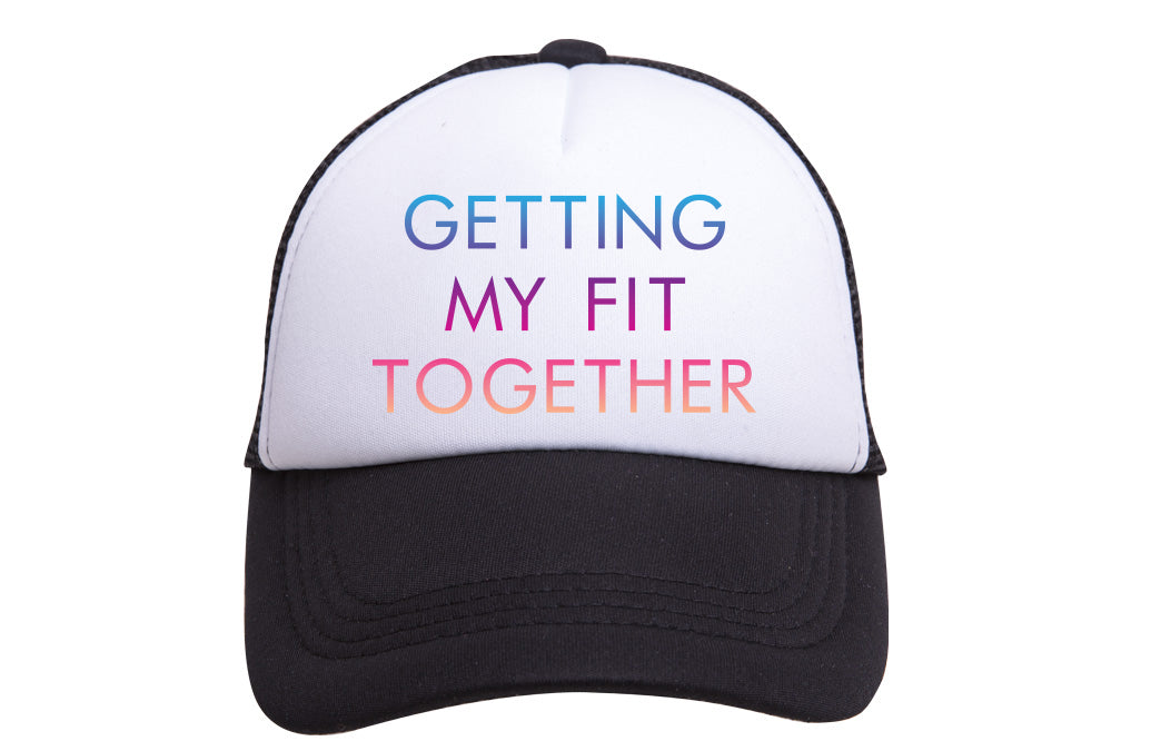 GETTING MY FIT TOGETHER TRUCKER