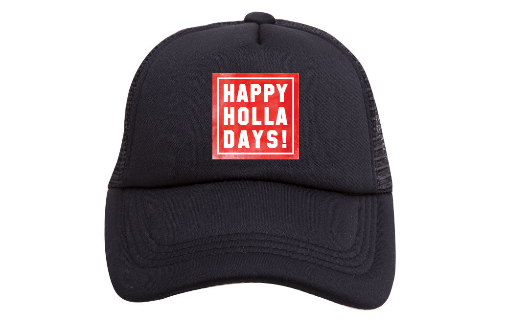 HAPPY HOLLA DAYS TRUCKER