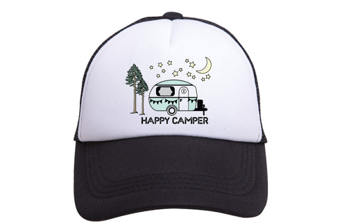 HAPPY CAMPER TRUCKER