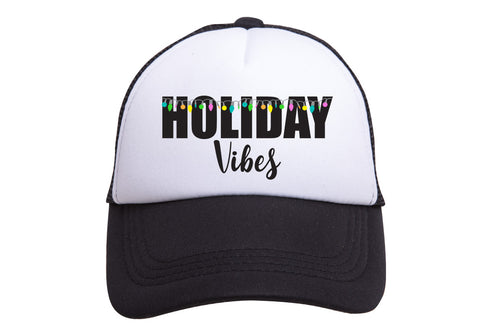 HOLIDAY VIBES TRUCKER