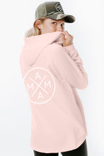 MAMA X™ V-NECK SWEATSHIRT - BLUSH