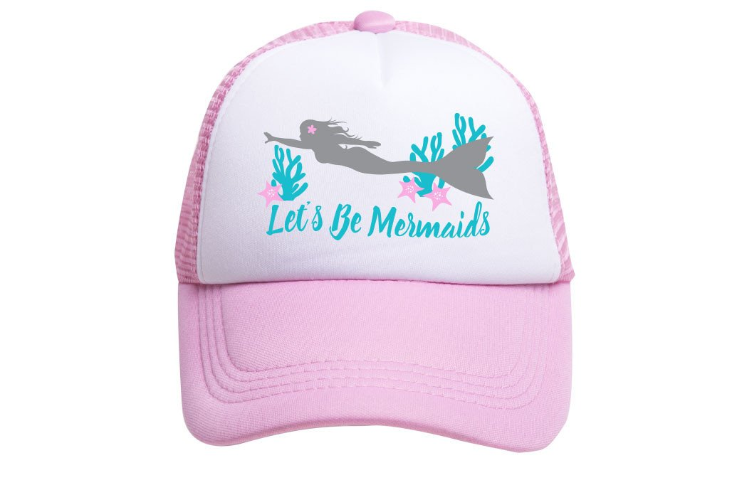 LE'TS BE MERMAIDS TRUCKER
