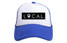 LOCAL TRUCKER - RED OR ROYAL BLUE