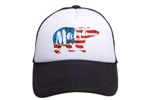MAMA BEAR (PATRIOTIC) TRUCKER