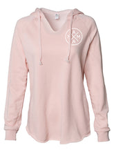 MAMA X ™ V-NECK SWEATSHIRT - BLUSH