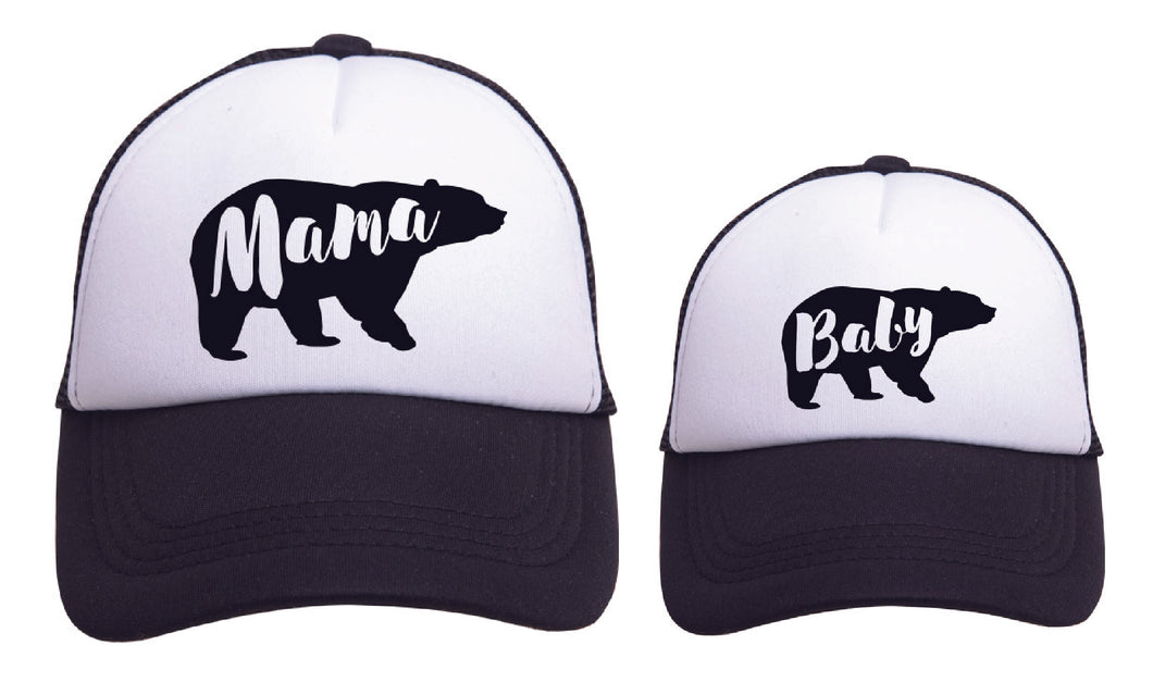 MAMA/BABY BEAR FAMILY SET - B/W
