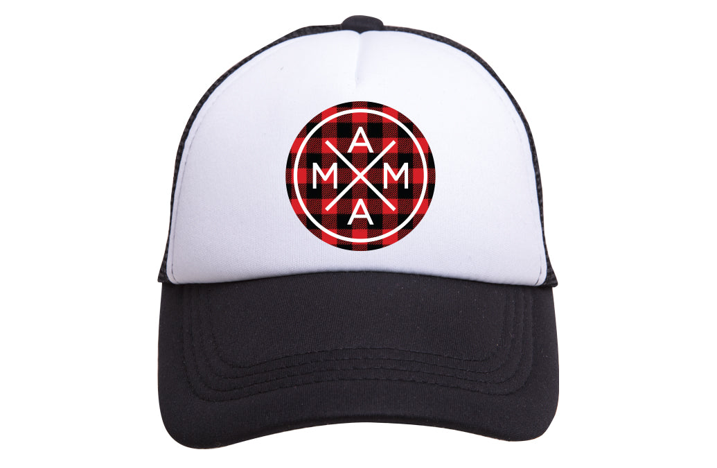 MAMA X ™  TRUCKER - PLAID