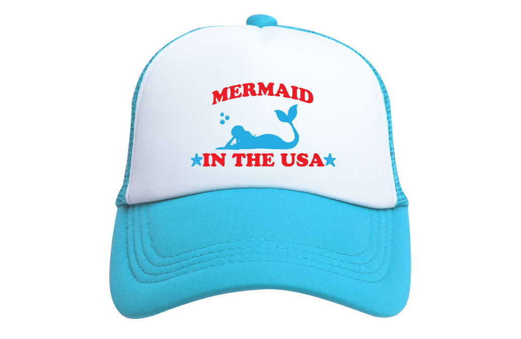 MERMAID IN THE USA TRUCKER