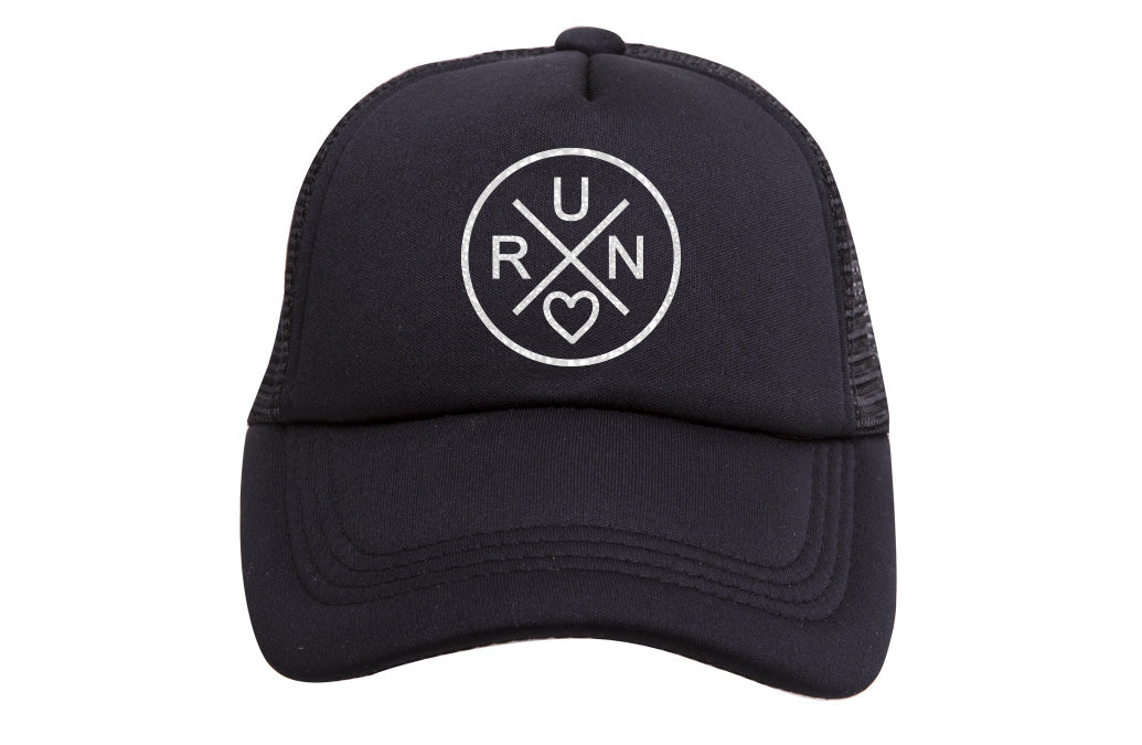 RUN X TRUCKER (WHITE GLITTER)