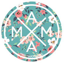STICKER - MAMA X ™ Teal Floral