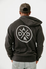 DADA X™ BLACK ZIP UP SWEATSHIRT