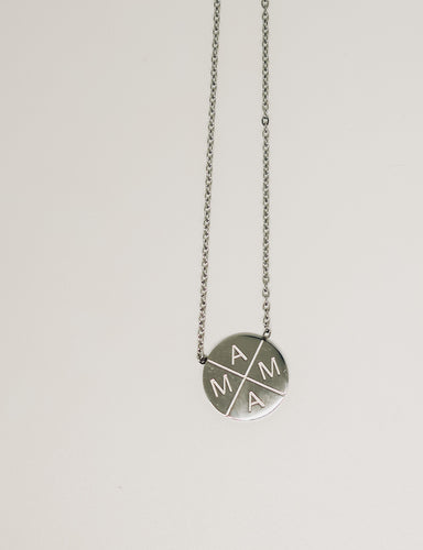 NECKLACE - MAMA X ™ SILVER