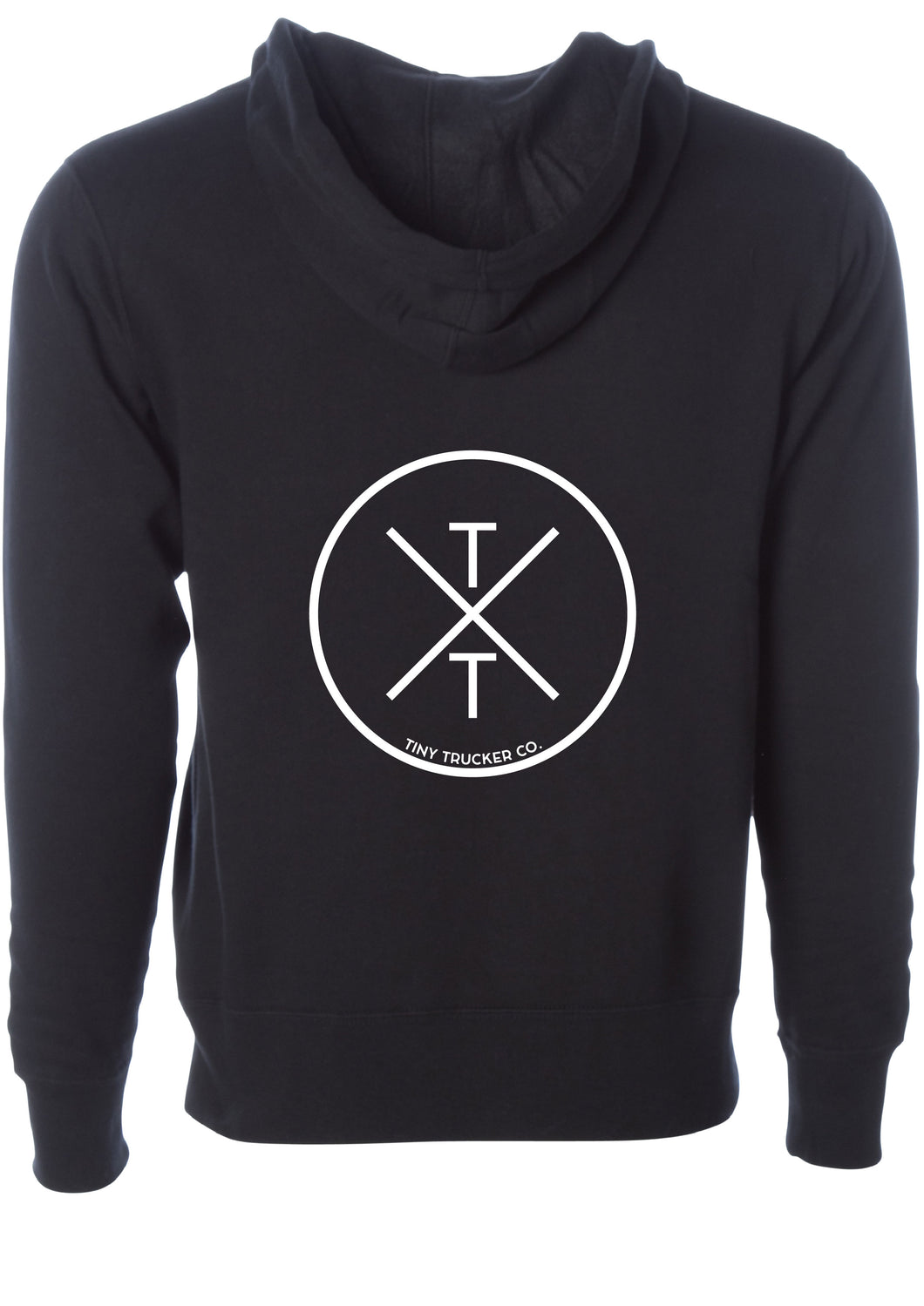 TXT ™ ZIP UP SWEATSHIRT - BLACK