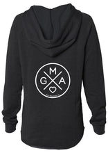 GMA X V-NECK SWEATSHIRT