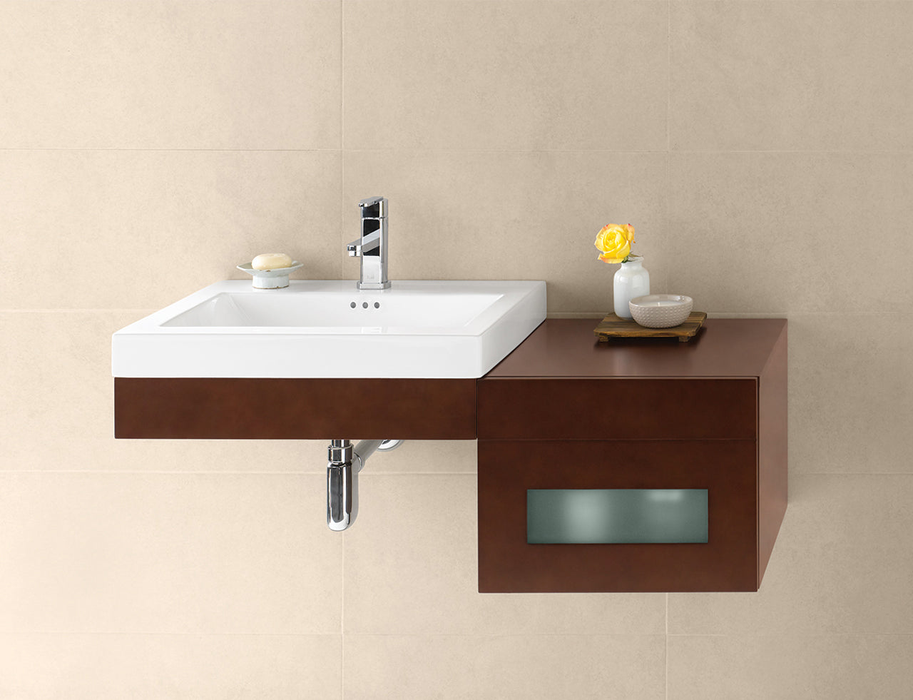 Explore With The Advantages Of Wall Mounted Bathroom Vanities
