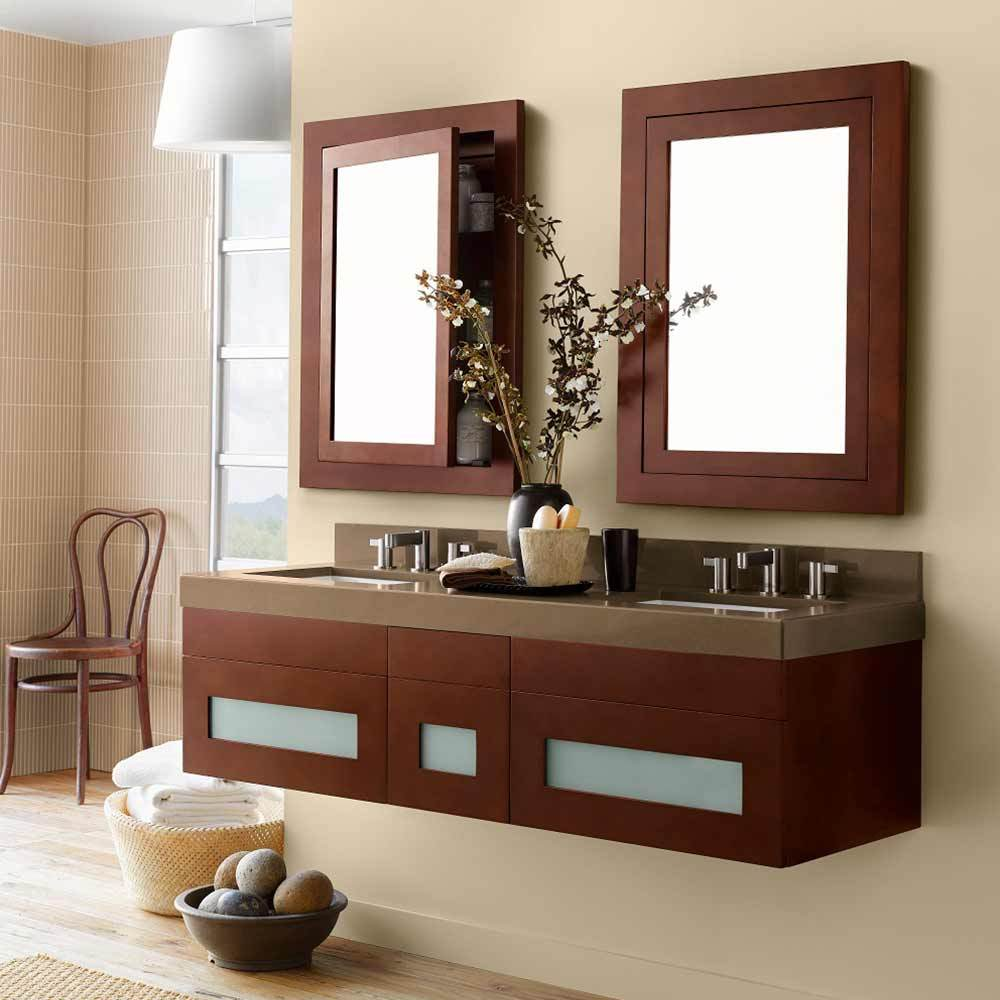 23 Quot Rebecca Wall Mount Bathroom Vanity Cabinet Base